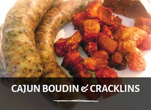 Photo of Cajun Boudin and Cracklins