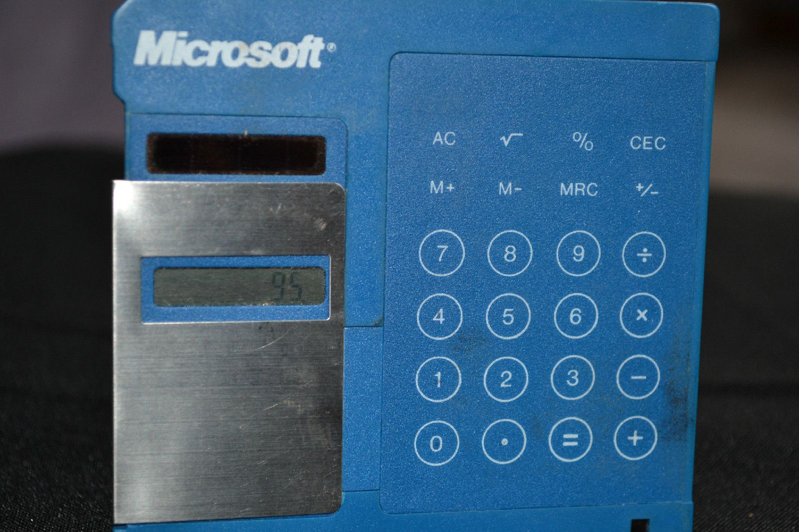 Vintage Microsoft Promotional Diskette Calculator #billgates #microsoft #vintagegaming #techvana