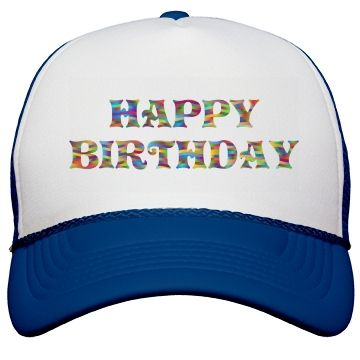 Happy Birthday Cap Lovely For Party Celebrations Happy Birthday