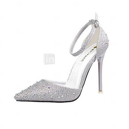 Women's Shoes AmiGirl 2016 New Style Wedding/Party/Dress Fuchsia /Black/Silver/Gold/Pink Sexy Stiletto Heels - GBP