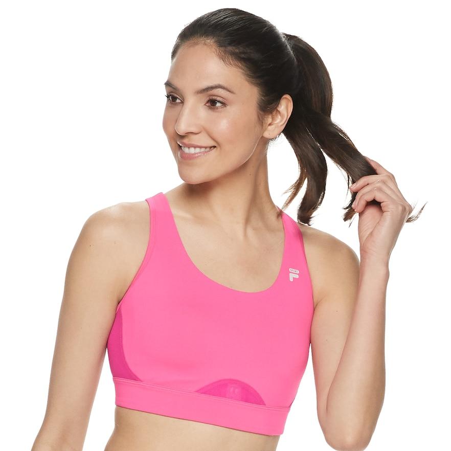 FILA SPORT® Open Back MediumImpact Sports Bra Bra