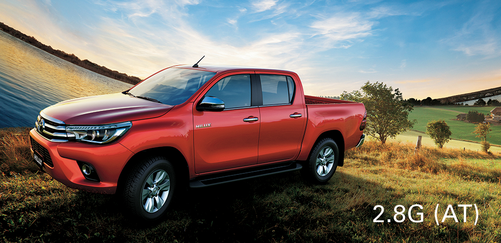Hilux 2.8G AT