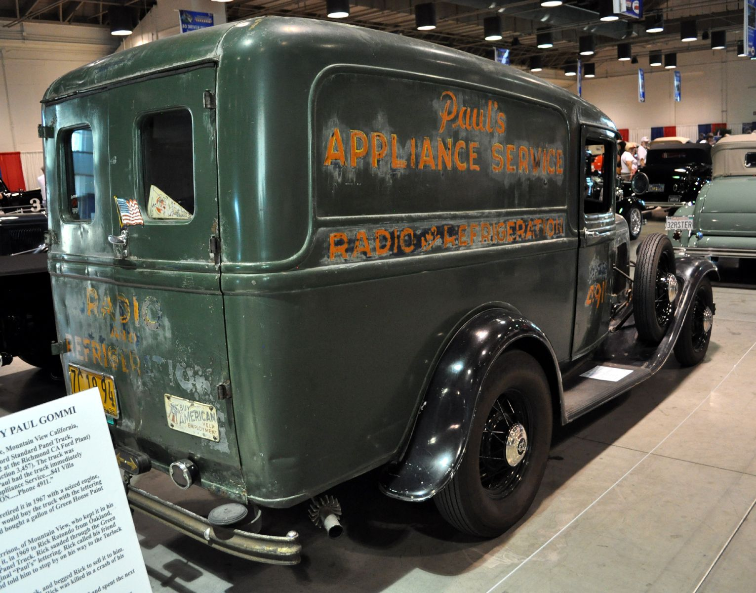 1936 Dodge Brothers Humpback Panel Delivery39s 1949 Van 1932 Delivery Paul Gomni