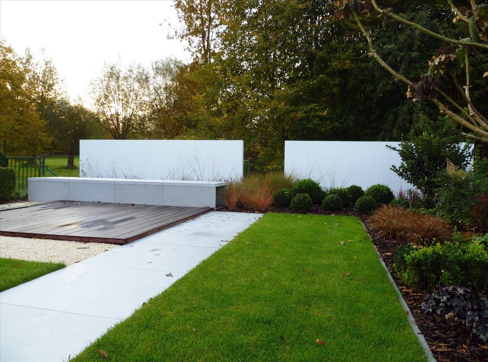 ECO Tuinarchitectengroep   projecten   Moderne lounge tuin ...