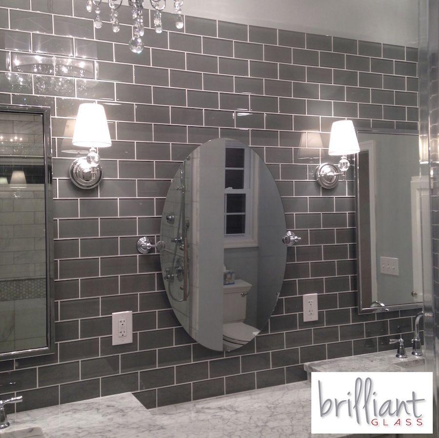 Bathroom Glass Subway Tile: Pin By The Builder Depot On Glass Backsplash