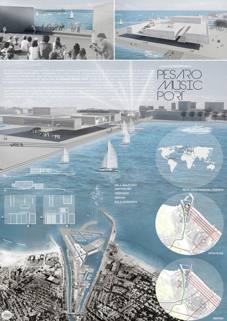 landscape architecture case study examples architectural presentation board urban design pinterest