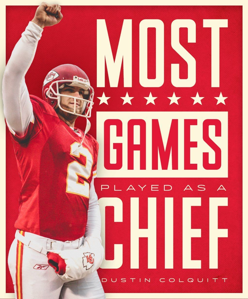 Kansas City Chiefs On Instagram Most Games Played As A Chief Ever Double Tap To Congratulate Kansas City Chiefs Kansas City Chiefs Football Chiefs Football