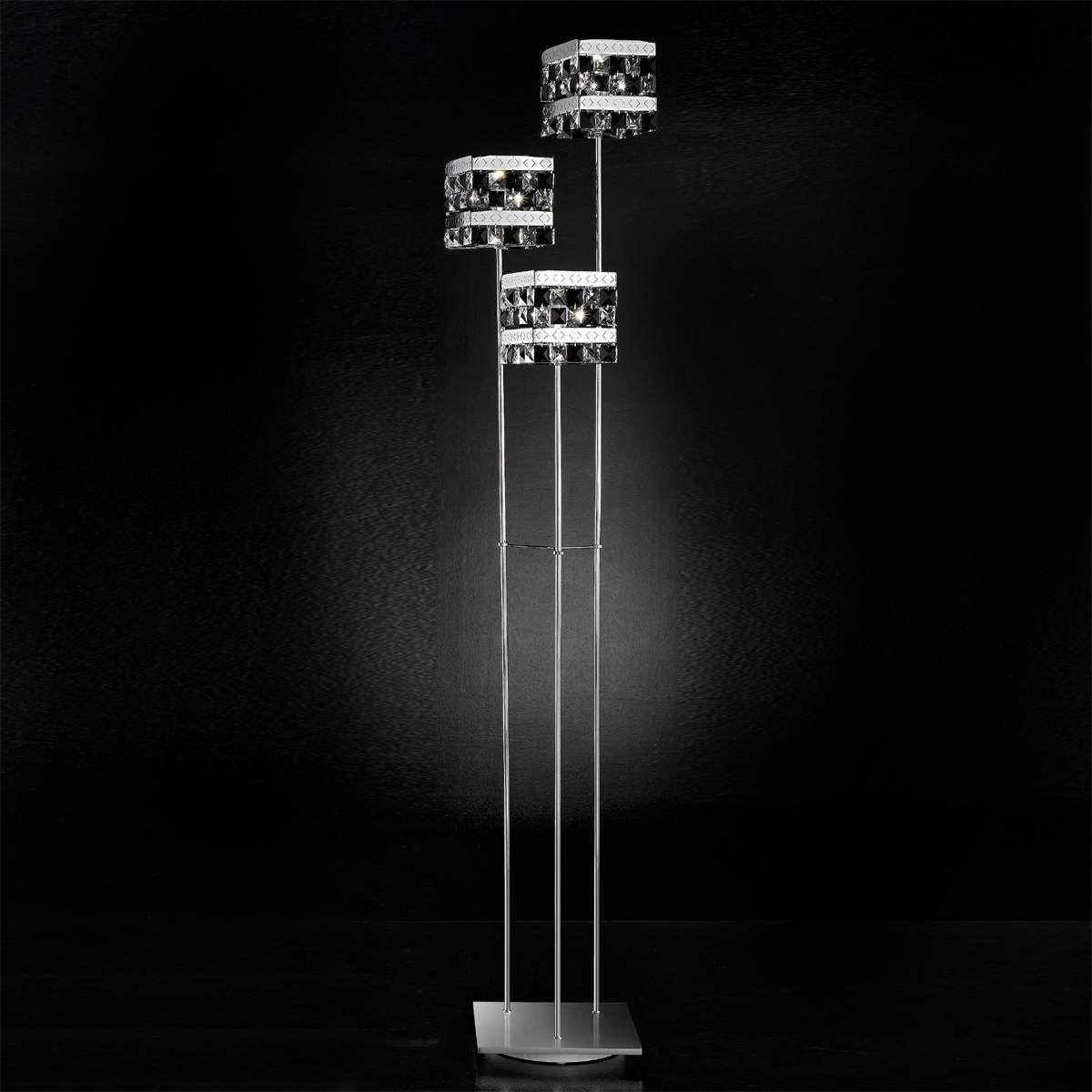 Kristall Stehleuchte Prince Von Idl Export Gartenstrahler Led Kristalle Leuchtstoffrohre