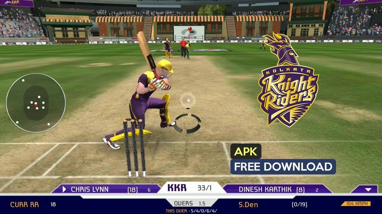 KKR Cricket 2018 Apk for Android free Download 2019 Free