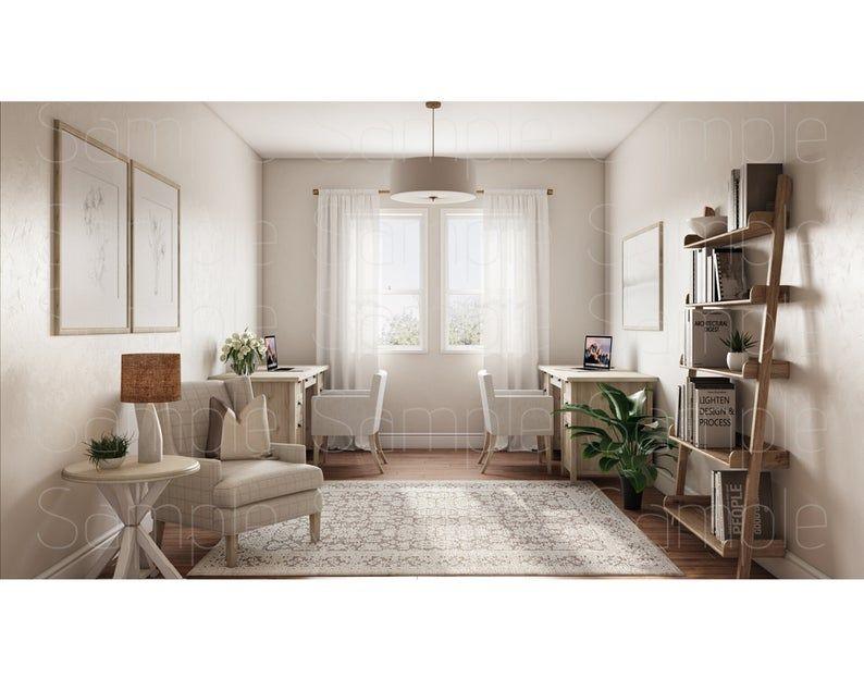 Zoom Backgrounds Backdrop Office Background Microsoft Etsy In 2021 Office Background Office Interior Design Interior Design