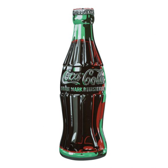 51f1a9001f5c Coca-Cola Bottle Die-Cut Metal Sign in 2019 | Coca Cola | Coca cola ...