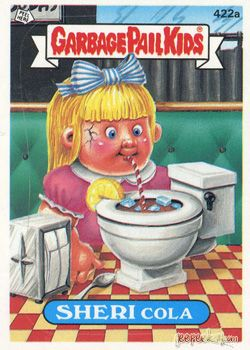 Geepeekay Com Original Series 11 Gallery Garbage Pail Kids Garbage Pail Kids Cards 80s Cartoons