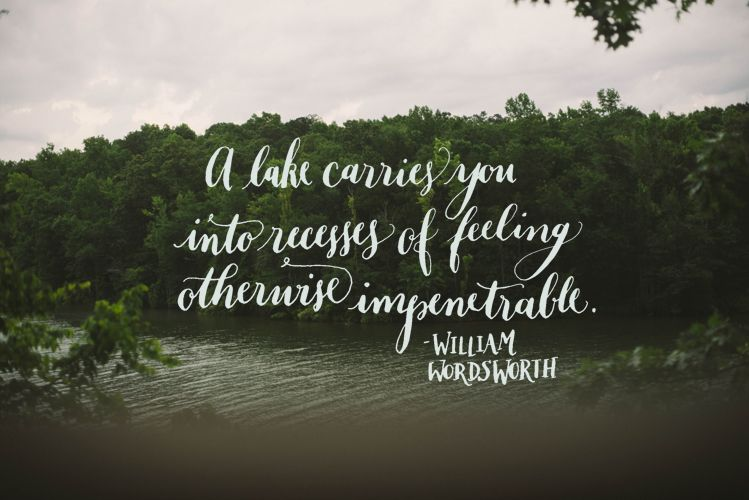 Day 180: A Lake Carries You Into Recesses Of Feeling