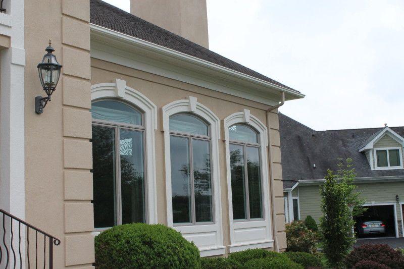 Stucco window molding google search stucco trim for Exterior stucco trim ideas