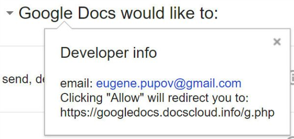 ایمیل های فیشینگ تحت عنوان دعوتنامه Google Docs گوگل مسئله را برطرف