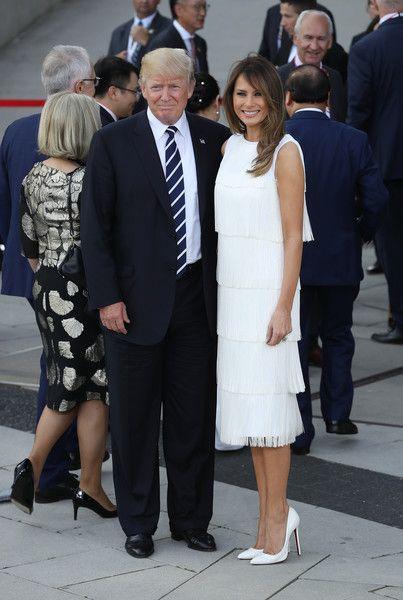 Melania Trump Photos Photos G20 Nations Hold Hamburg Summit Naryady Modnye Naryady Modnye Idei