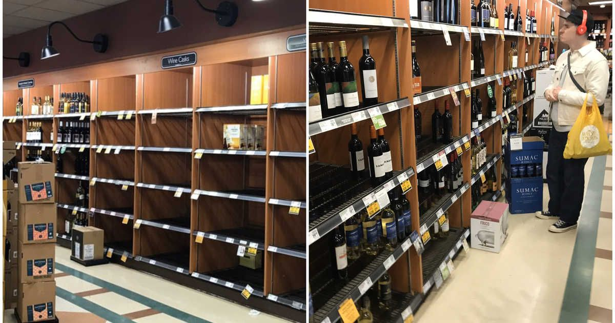 BC Liquor Stores Are Staying Open During Provincial Health