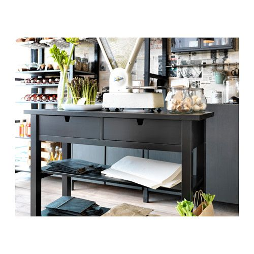 Console Tables · NORDEN Sideboard, Black | IKEA.
