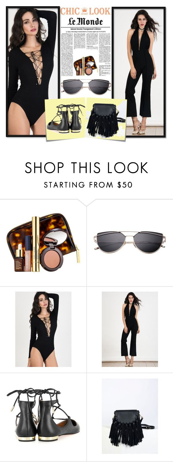 """II - Chiclookcloset"" by jasminica-6 ❤ liked on Polyvore featuring Estée Lauder and Post-It"