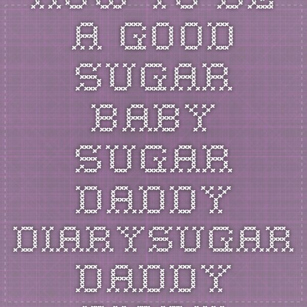 Sugar baby diary