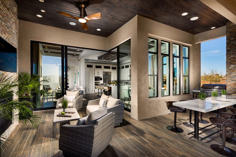 Toll Brothers Agua Fria Grand Balcony And Outdoor Living With