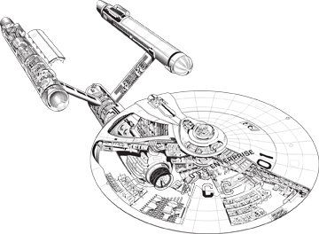 New Illustrations From Haynes Guide To The USS Enterprise