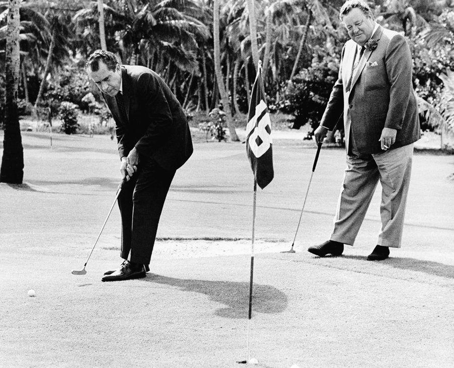 20 vintage photos of America's sportiest presidents Golf