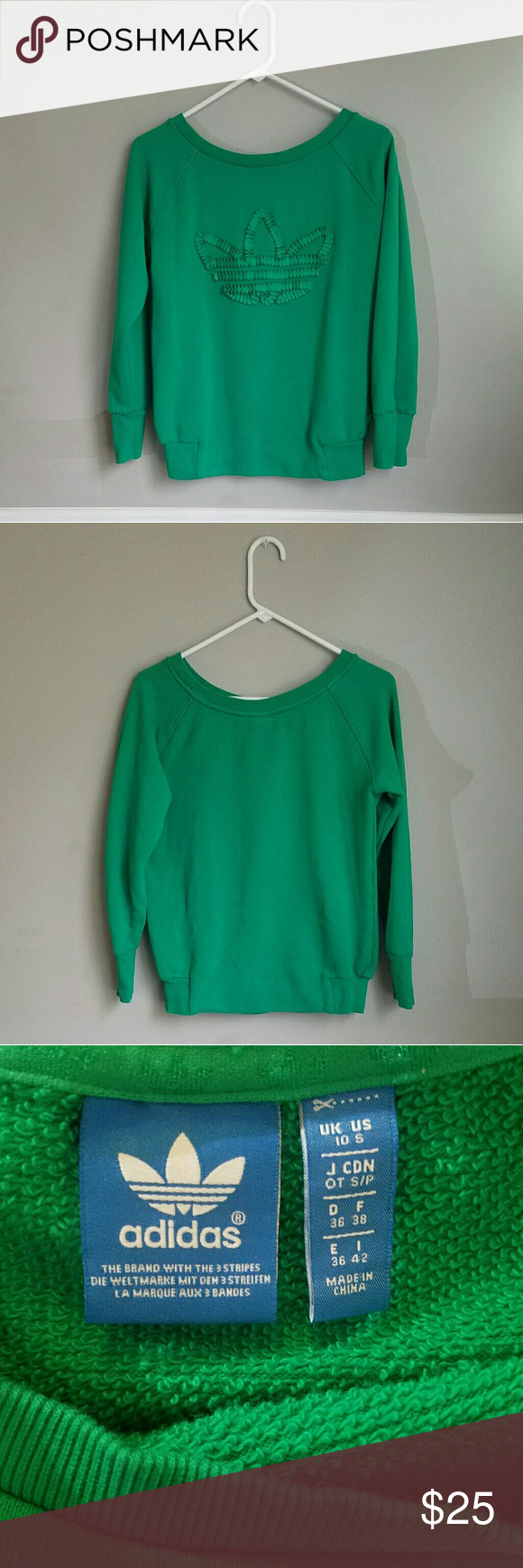 6376bd43ce99 Size small. Green. Worn a few times. No flaws. Flat lay measurements  Pit  to pit  20