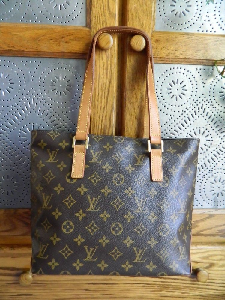 fashion LOUIS VUITTON LV Authentic Cabas Piano Handbag Purse- U.S.A. Seller! ffdbb9e4113e2
