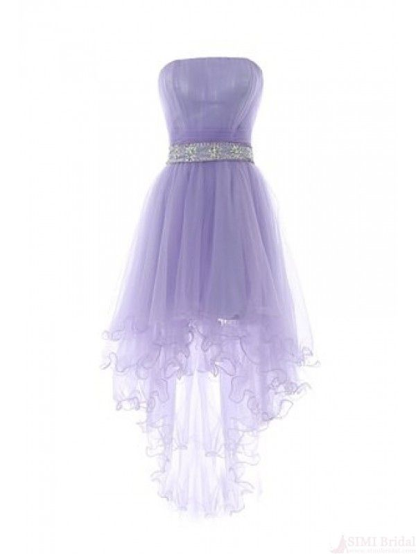 high low prom dresses ,light purple homecoming dress ...