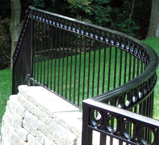 Deck Railing Styles | Iron railing, Fence design, Modern ...