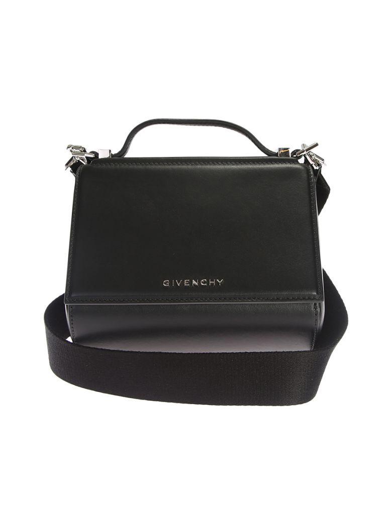 768ad13cd2b GIVENCHY Mini Pandora Box Black Leather Bag. #givenchy #bags #shoulder bags  #leather #
