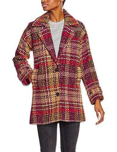 Helenna multicolore Pepe Mujer Jeans 38 Abrigo Multicolor Uqxr5qZ