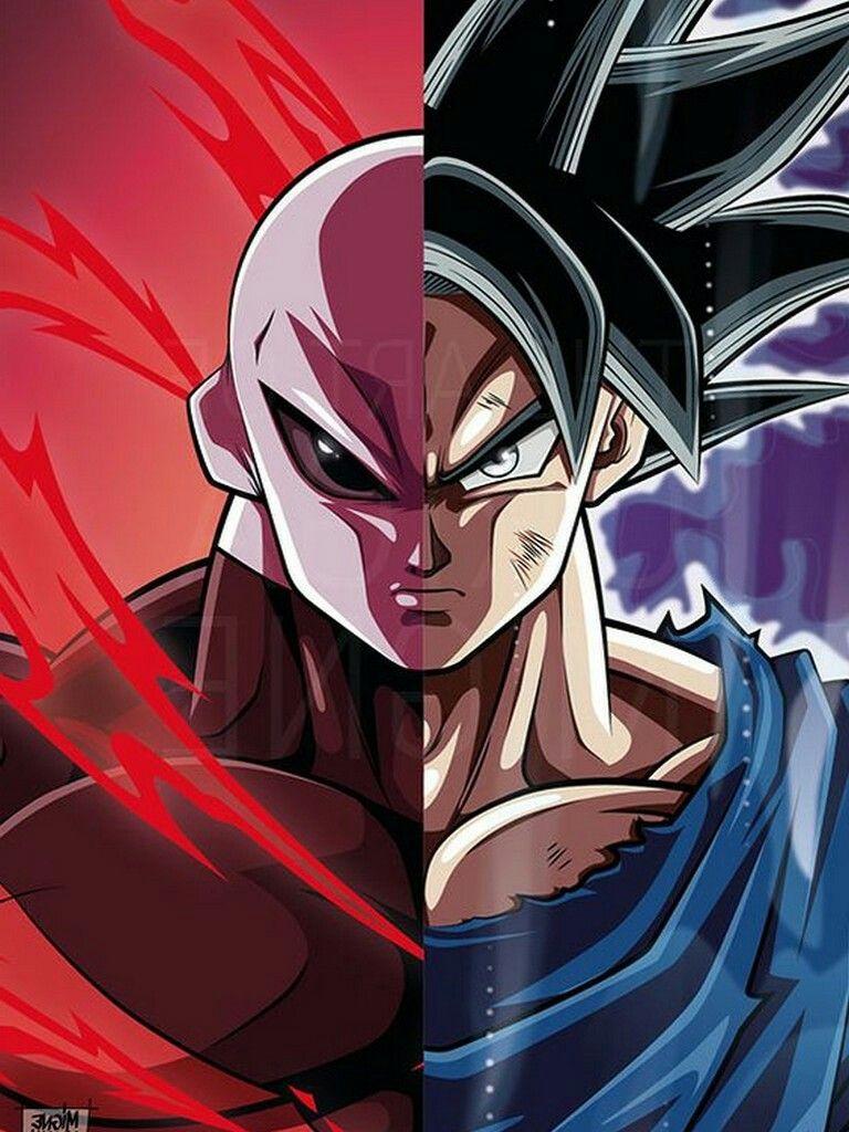 Jiren Vs Goku Anime Dragon Ball Super Dragon Ball Super Goku