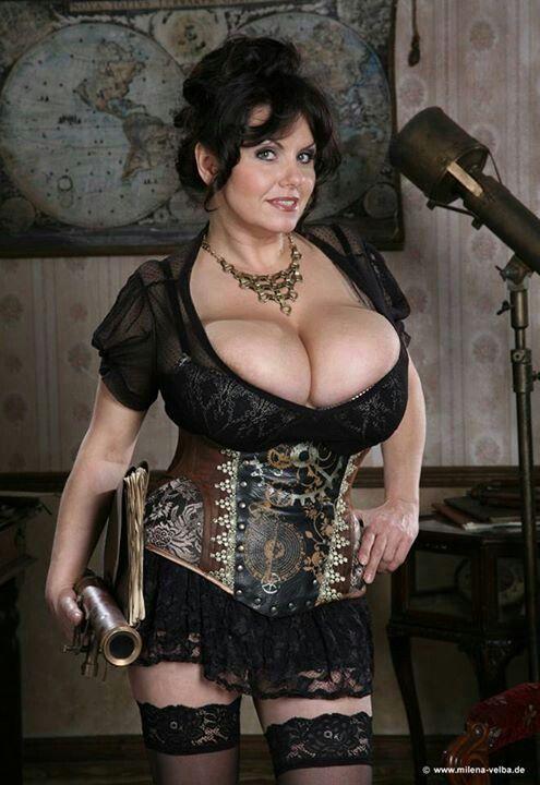 Milena Velba   Corsets   Pinterest   Voluptuous women ...