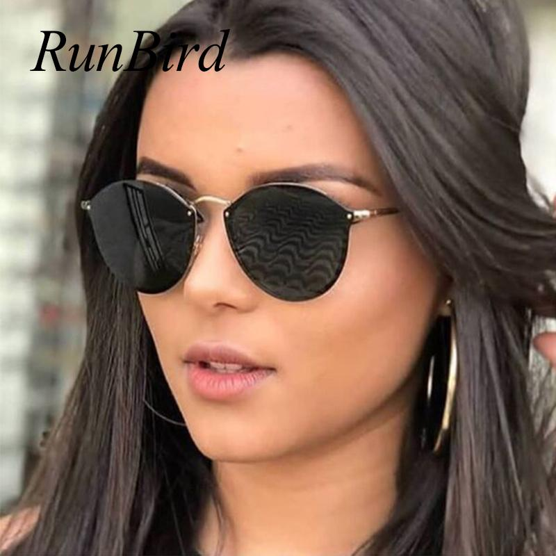 1f922fd6af Women's Retro Luxury Rimless Cat Eye Sunglasses 7 Frame Colors 40% Off  Season End Clearance