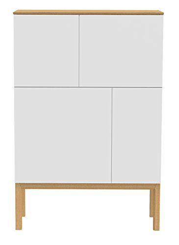 Tenzo 2276-454 Patch Designer Sideboard, Schrank, lackiert, Matt - schlafzimmerschrank weis