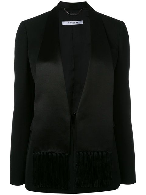 GIVENCHY Classic Fitted Blazer. #givenchy #cloth #blazer