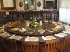 I Want A Smaller Version Of This Round Table And Lazy Susan For