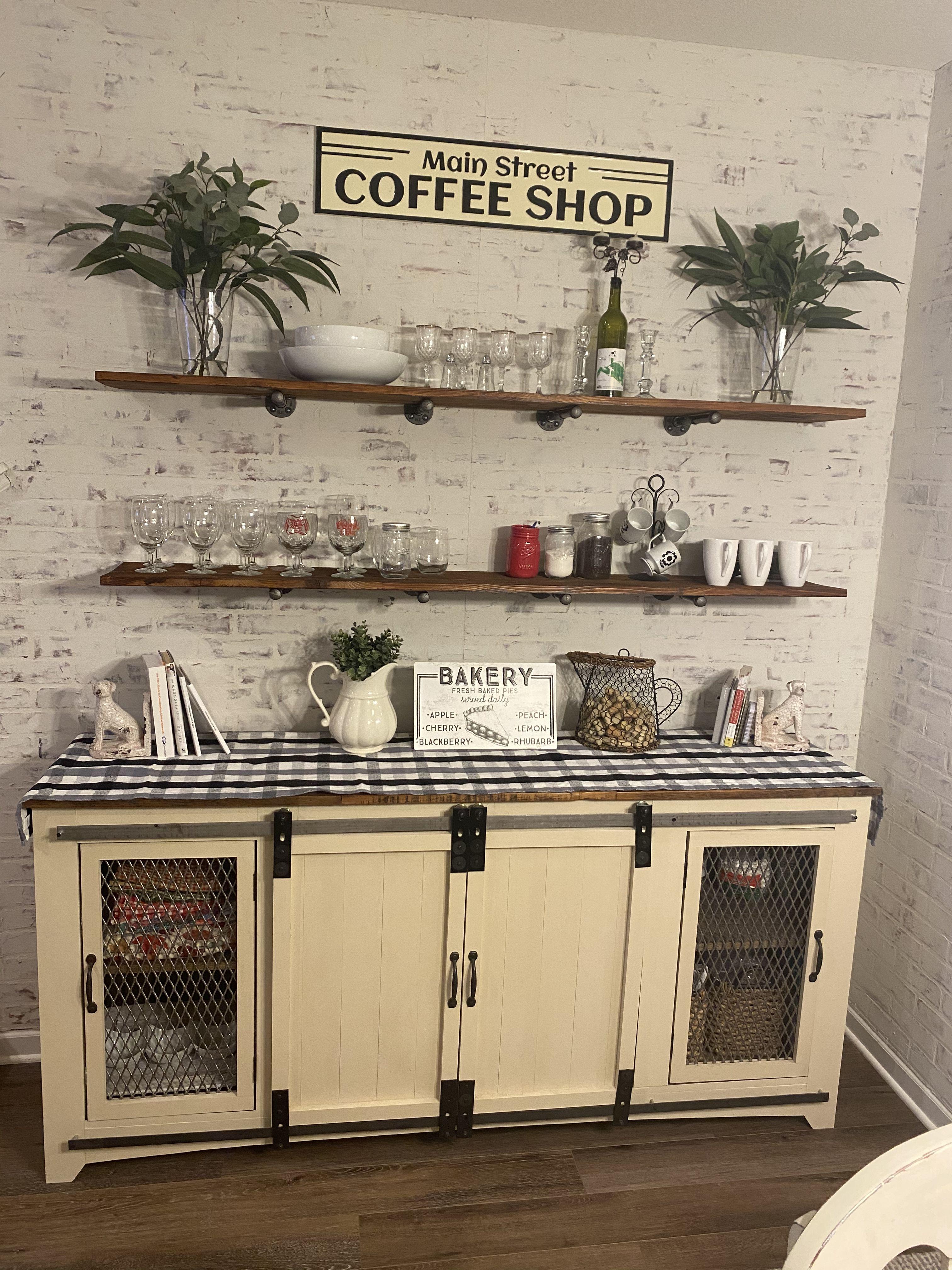 M I C H E L L E A On Instagram When Life Gives You Lemons Make Something Sweet Americanfar Kitchen Decor Cool Bars Rustic House