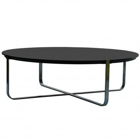 Table Basse Design Ronde C1 Noire Pure Deco Design Table Basse Design Table Basse Et Chaise Pliante Design