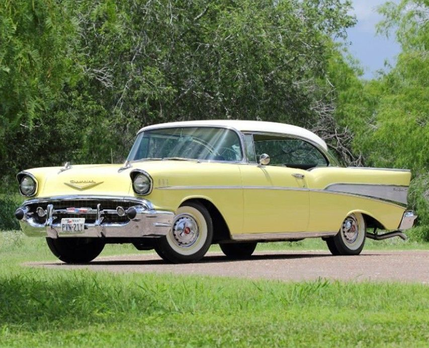 1957 Chevy Bel Air Sport Coupe Classic Cars Trucks Old Classic Cars 57 Chevy Bel Air