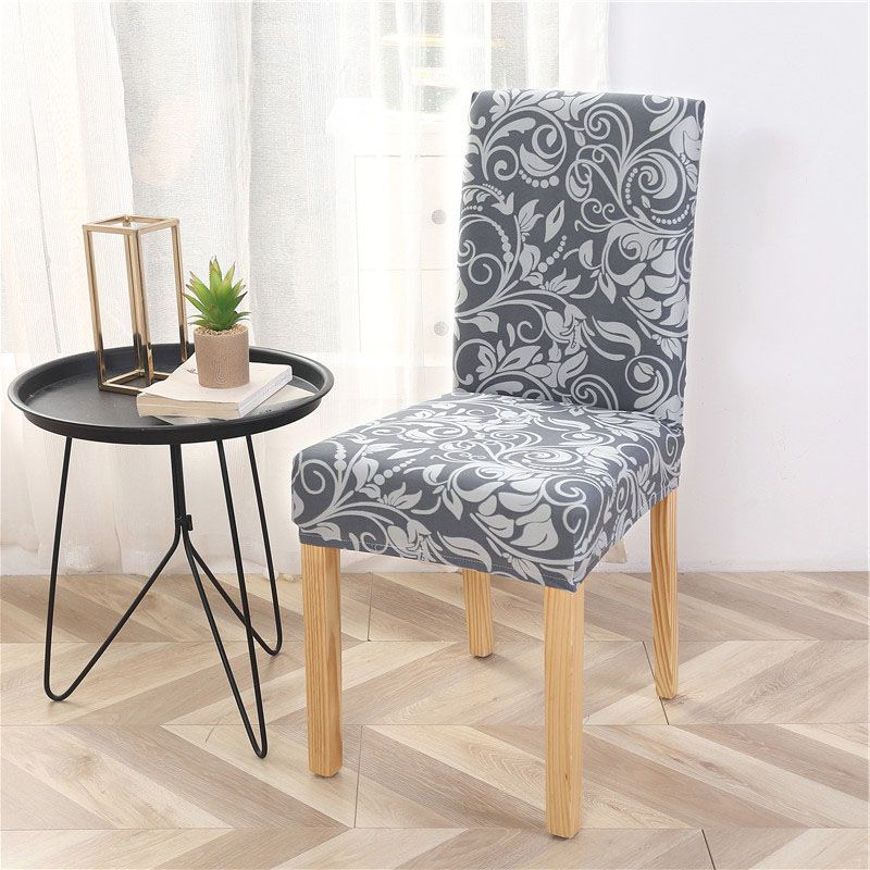 Use These Elegant Chair Covers To Lighen Up Your Dining Room Mid
