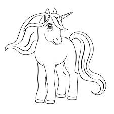Dibujo Para Pintar De Unicornio Buscar Con Google Dibujos