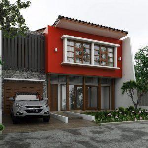 Desain Rumah Minimalis 2 Lantai 6x12 Dengan Warna Cat ...