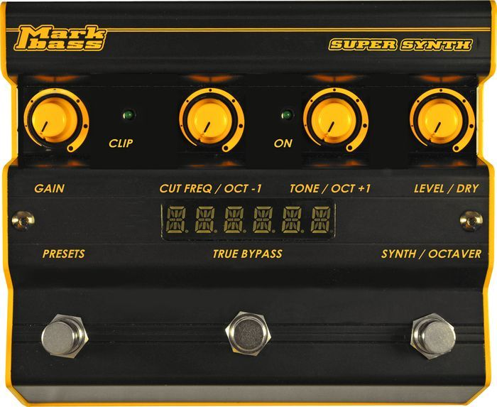 Super Synth Bass Pedal Blues Co