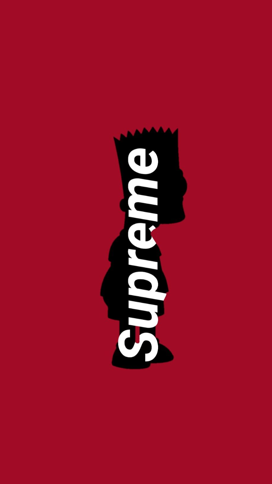 Supreme Bart Supreme Iphone Wallpaper Supreme Wallpaper Supreme Wallpaper Hd