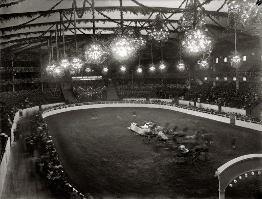 The National Horse Show At Madison Square Gardens 1908. The Social Event Of  The Time