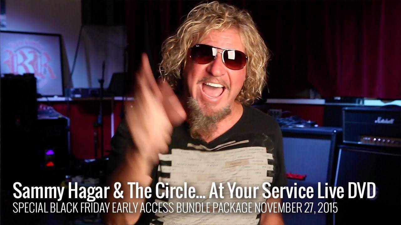 Sammy Hagar The Circle At Your Service Live Concert Dvd With Images Live Concert Sammy Hagar The Circle Dvd