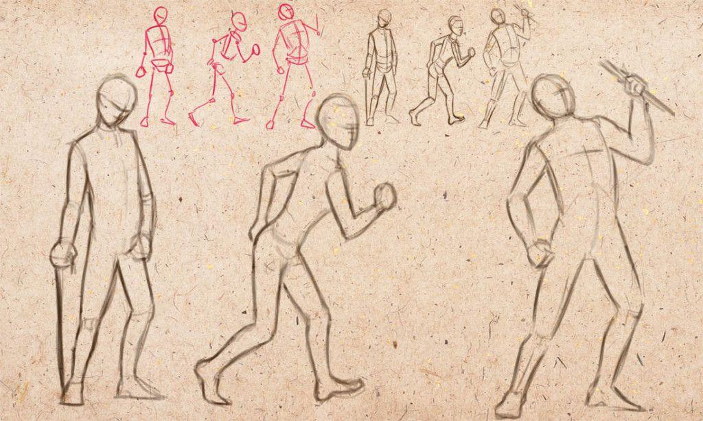 интерьера рисунки движущиеся человек окрашивание